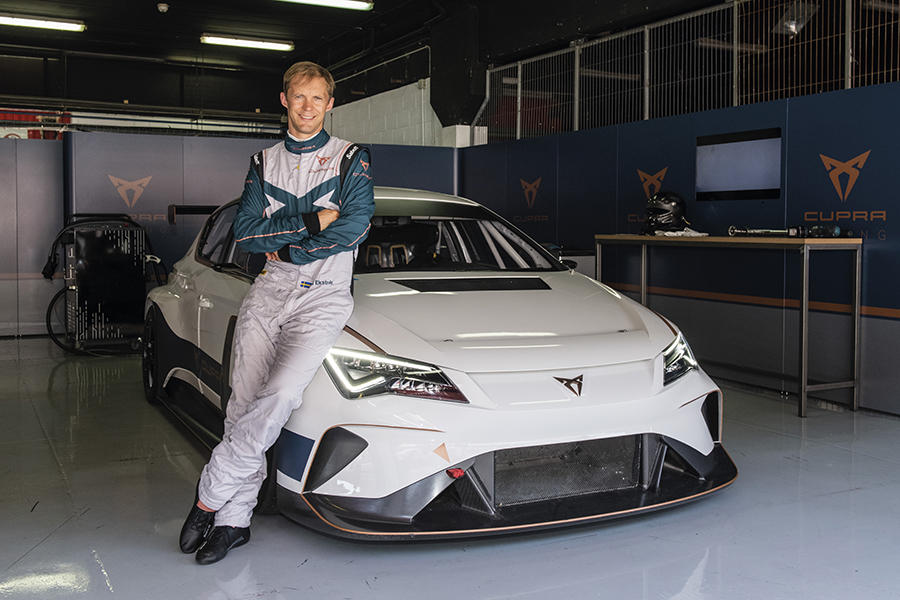 Mattias Ekström is named CUPRA e-Racer's official driver