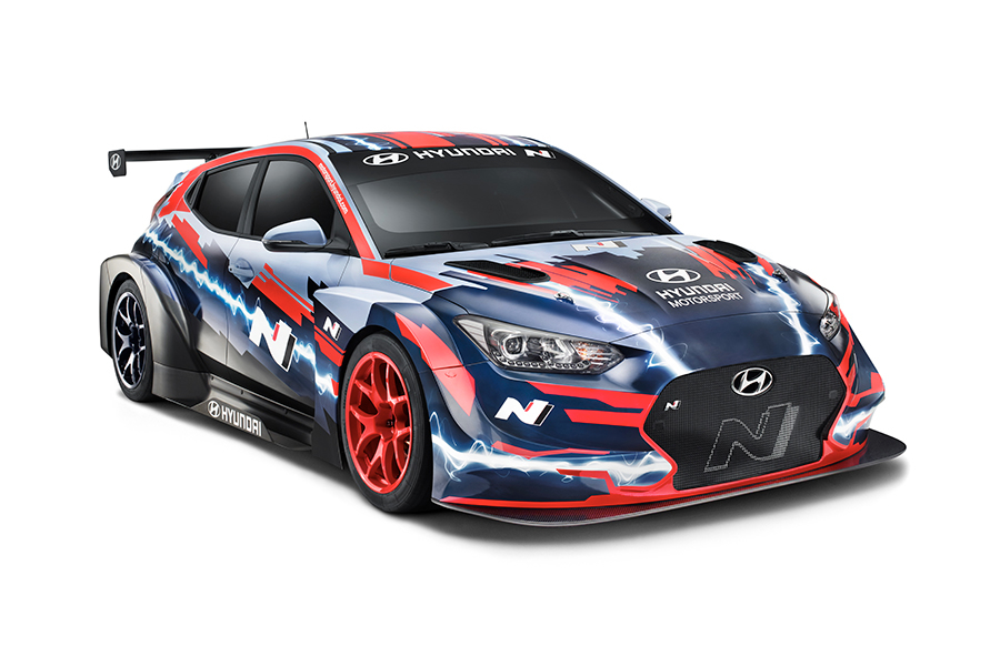 Hyundai unveils the Veloster N ETCR at Frankfurt