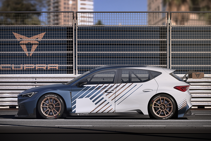 Ekström and Gené to drive the CUPRA e-Racer in 2020