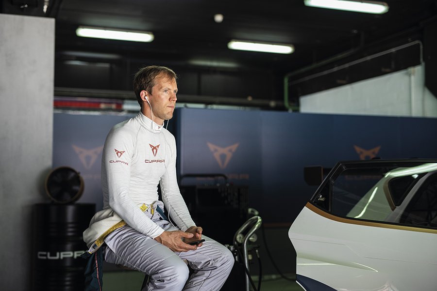 Ekström talks about the CUPRA e-Racer's development