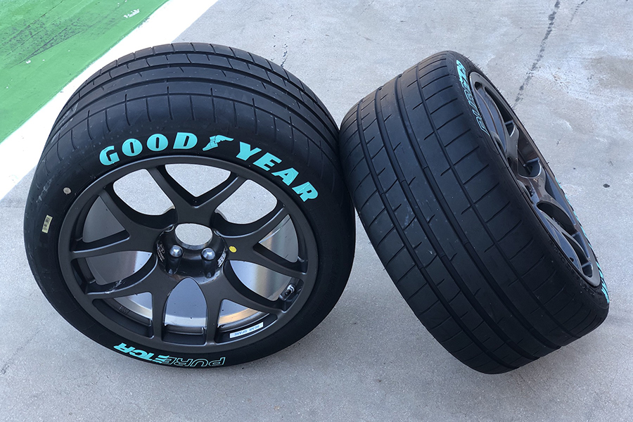 Goodyear unveils PURE ETCR control tyre