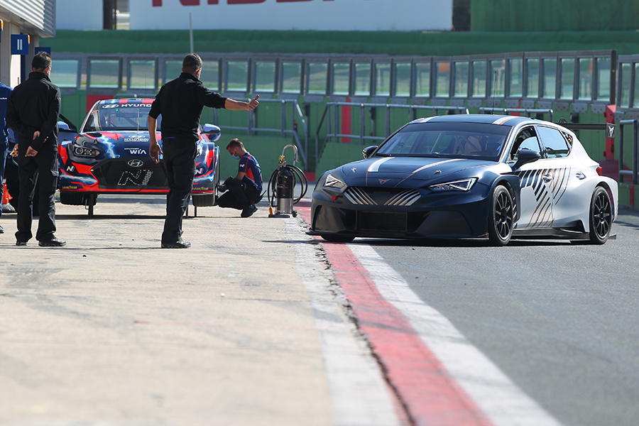 More testing at Vallelunga for Hyundai and CUPRA