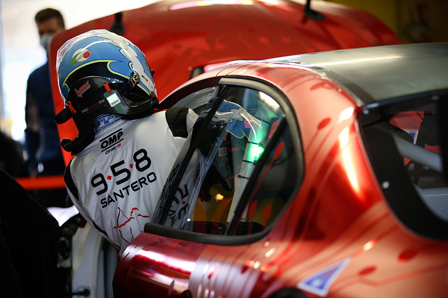 Luca Filippi joins Romeo Ferraris for the PURE ETCR series